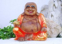 Happy  Buddha Orange