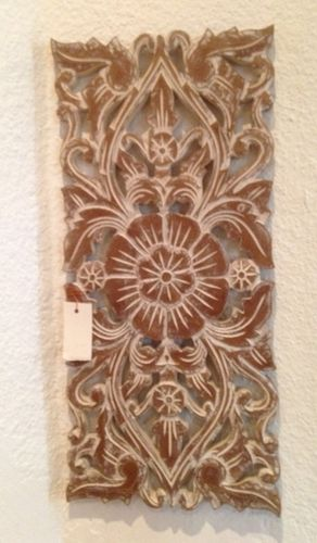 Natural White Handcarved Panel