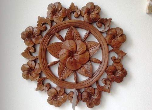 Mandala Flower Carving