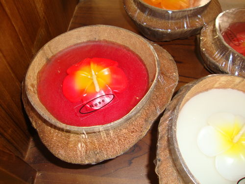 Set 2 Coconut Candle
