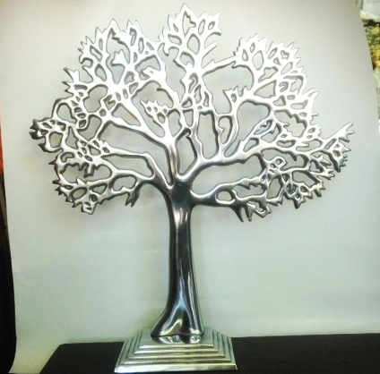 M Tree of Life Plate