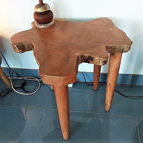 4 Legs Teak Root Table