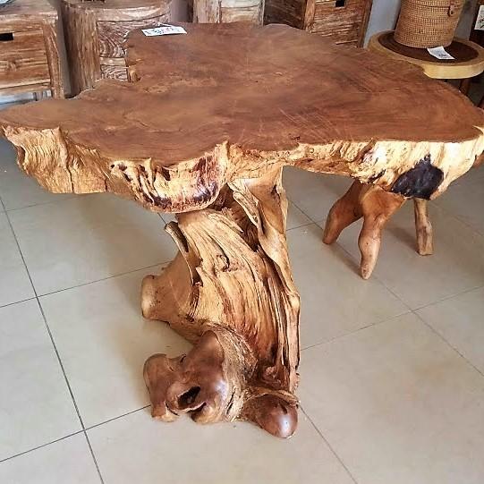Wwwbalidekorcom Teal Root Dining Table