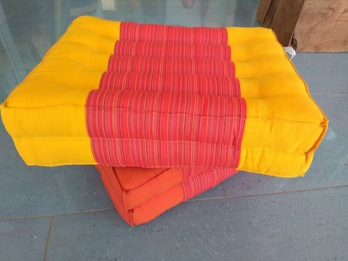 Double Yellow Matrass Cushion