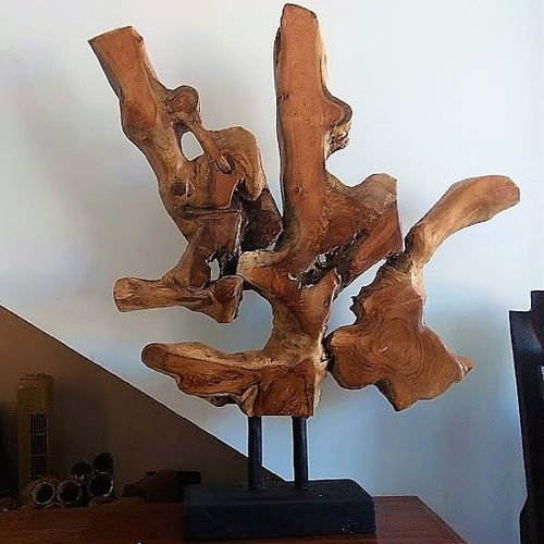 Table Teak Root Sculpture