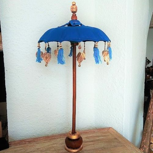 Aqua BlueTable Balinese Umbrella