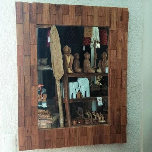 Wood Mirror Bata