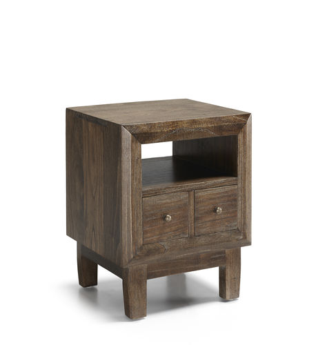 2 Drawers Bed Side Table