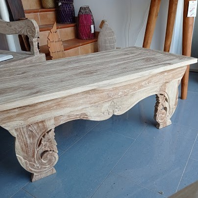 Carved Teak Table