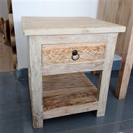 One Drower Bed Side Table